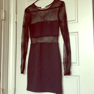 Mesh Mini Dress